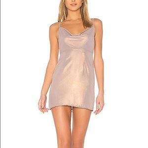 MAJORELLE Ballet Dress in Golden Mauve (Revolve)